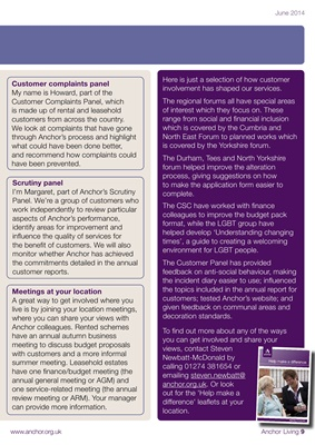 Anchor Living June 2014 - Issue 1