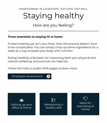 Staying healthy 2