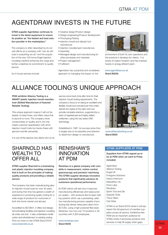 GTMA Supply Chain Solutions - Issue 1