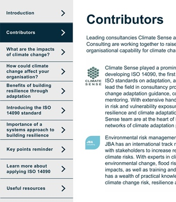 Climate Change   JBA Consulting