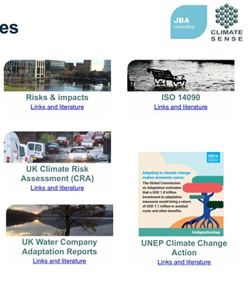 Useful Climate Change Resources   JBA Consulting