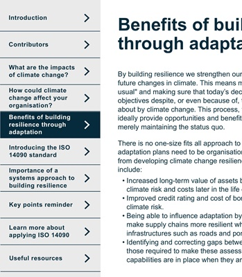 Building climate change resilience | JBA Consulting