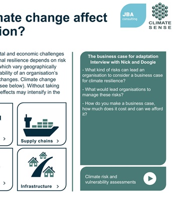 Discover Climate Risk | JBA Consulting