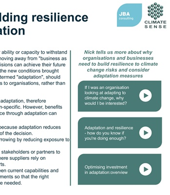 Climate change adaptation | JBA Consulting