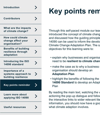 Climate Change Resilience Key Points   JBA Consulting