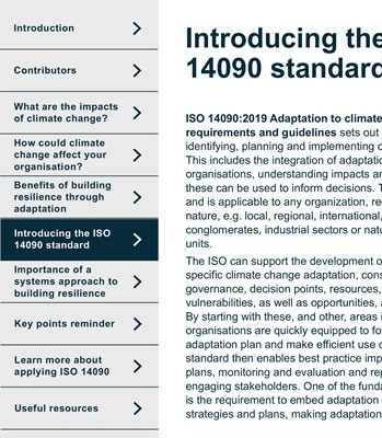 Adaptation to Climate Change Principles | JBA Consulting