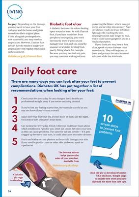diabetes footcare, diabetic foot conditions