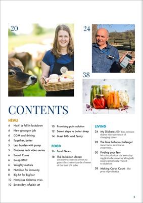 ang diabetes magazine diabetes information, Sue Marshall