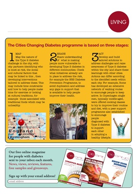 Cities Changing Diabetes, Novo Nordisk diabetes