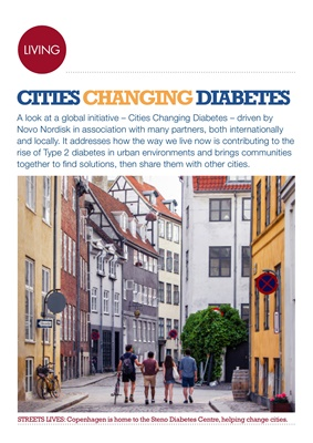 Cities Changing Diabetes, Novo Nordisk diabetes