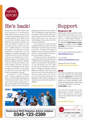 Desang diabetes magazine, diabetes news