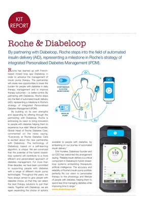 Diabetes kit reports, closed loop insulin delivery