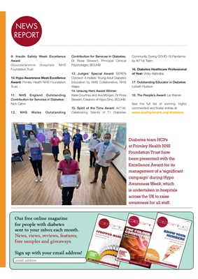 Quality in Care Awards Diabetes 2020, QiC, Sanofi