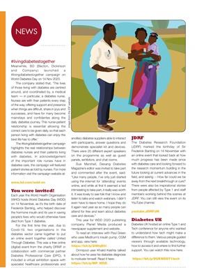 Desang diabetes magazine diabetes news, World Diabetes Day