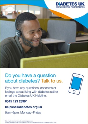 Diabetes UK Helpline