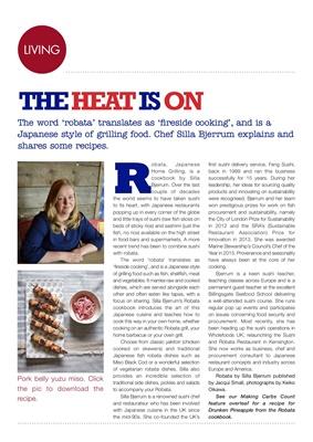 Silla Bjerrum Robata Japanese grilling cookbook