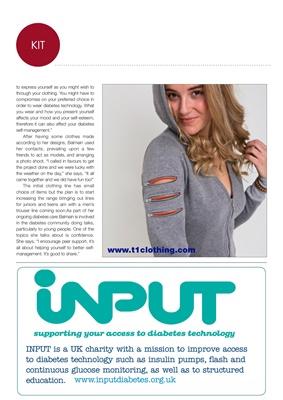 Diabetes kit, Natalie Balmain diabetes, Type 1 clothing
