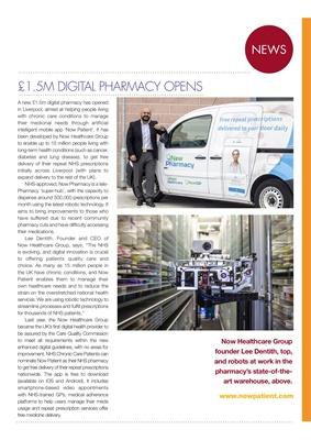 Diabetes news, Now Pharmacy, Now Patient, Now Healthcare, Lee Dentith