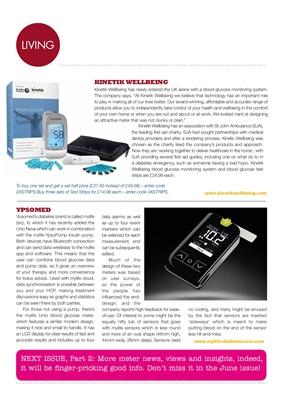Blood test meters, blood glucose meters, Kinetik Wellbeing, Ypsomed mylife Unio