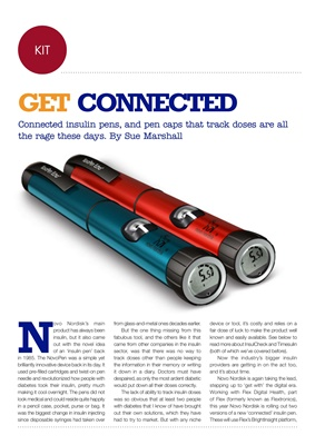 Connected insulin pens, Novo Nordisk, Timesulin, Big Foot Biomedical, InsulCheck