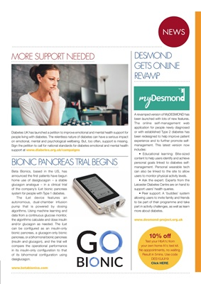 Desang diabetes magazine, diabetes news, iLet insulin pump, Beta Bionics