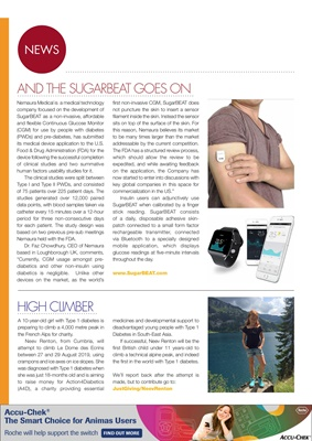 Desang diabetes magazine, diabetes news
