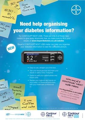 desang diabetes directory Bayer Contour Next USB