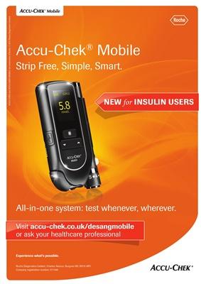 Accu-Chek Mobile blood test
