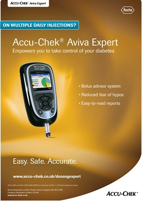 Accu-Chek Expert blood test meter
