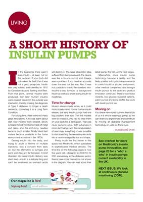 A short history of insulin pumps