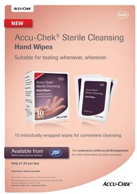 Accu-Chek Sterile Handwipes for diabetes