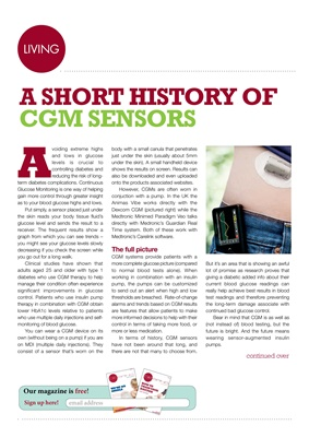 continous glucose monitoring, CGM