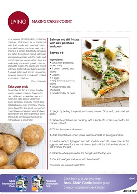 the carb content of potatoes for diabetic diet