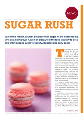 Action on Sugar and diabetes