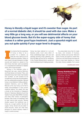 honey and diabetes