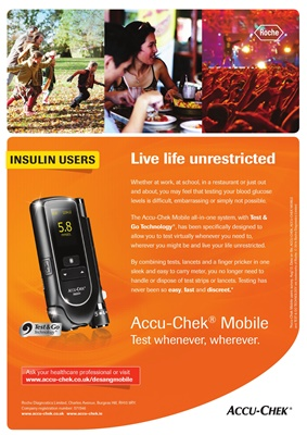 Accu-Chek blood test meters, Accu-Chek Mobile