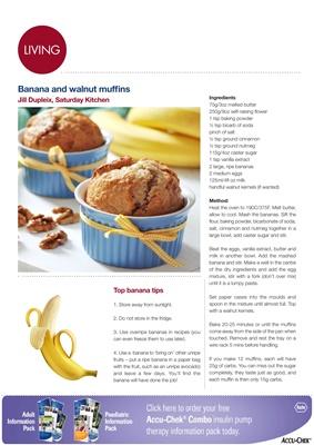 Making Carbs Count bananas
