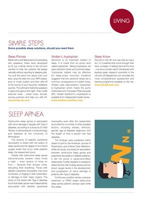 Simple sleep solutions for diabetes