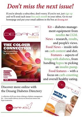 Desang diabetes information