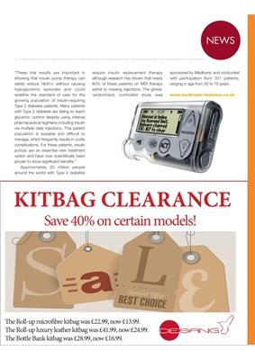 Medtronic diabetes care Desang diabetes kitbags