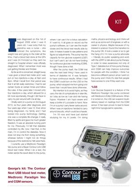 Diabetes management equipment