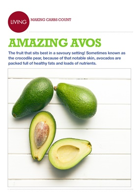 Making Carbs Count avocados