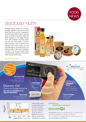 Food information for the diabetic diet