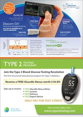 Gluco RX Type 2 testing
