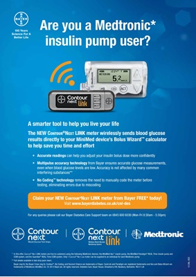 Medtronic diabetes insulin pump and CGM
