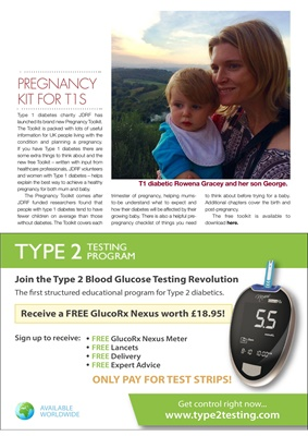 Desang diabetes magazine diabetes news Type 2 testing