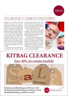 Desang diabetes kitbags