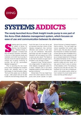 Accu-Chek Insight insulin pump Dr Matthias Axel Achweitzer