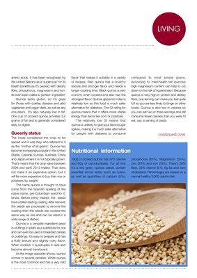 Counting carbs for the diabetic diet the carb count of quinoa