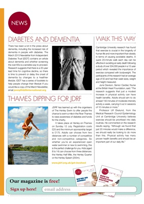 Desang diabetes magazine diabetes news